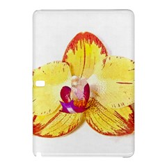 Phalaenopsis Yellow Flower, Floral Oil Painting Art Samsung Galaxy Tab Pro 12 2 Hardshell Case by picsaspassion