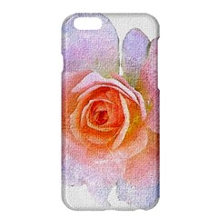 Pink Rose Flower, Floral Oil Painting Art Apple Iphone 6 Plus/6s Plus Hardshell Case by picsaspassion