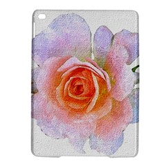 Pink Rose Flower, Floral Oil Painting Art Ipad Air 2 Hardshell Cases by picsaspassion