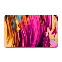 Abstract Acryl Art Magnet (rectangular) by tarastyle