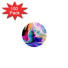 Abstract Acryl Art 1  Mini Magnets (100 Pack)  by tarastyle