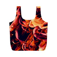 Abstract Acryl Art Full Print Recycle Bags (m)  by tarastyle