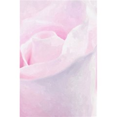 Rose Pink Flower, Floral Aquarel   Watercolor Painting Art 5 5  X 8 5  Notebooks by picsaspassion