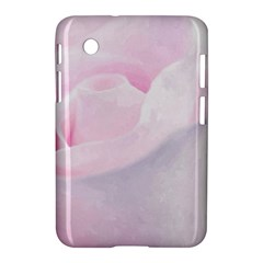 Rose Pink Flower, Floral Aquarel   Watercolor Painting Art Samsung Galaxy Tab 2 (7 ) P3100 Hardshell Case  by picsaspassion