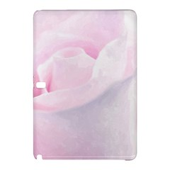 Rose Pink Flower, Floral Aquarel   Watercolor Painting Art Samsung Galaxy Tab Pro 10 1 Hardshell Case by picsaspassion