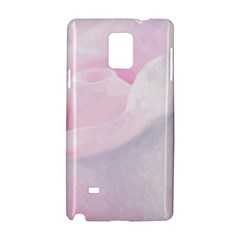 Rose Pink Flower, Floral Aquarel   Watercolor Painting Art Samsung Galaxy Note 4 Hardshell Case