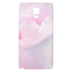 Rose Pink Flower, Floral Aquarel   Watercolor Painting Art Galaxy Note 4 Back Case by picsaspassion