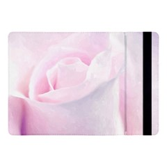 Rose Pink Flower, Floral Aquarel   Watercolor Painting Art Apple Ipad Pro 10 5   Flip Case by picsaspassion