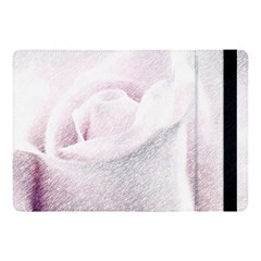 Rose Pink Flower  Floral Pencil Drawing Art Apple Ipad Pro 10 5   Flip Case by picsaspassion
