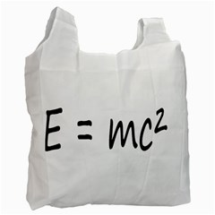 E=mc2 Gravity Formula Physics Recycle Bag (two Side)