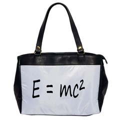 E=mc2 Gravity Formula Physics Office Handbags by picsaspassion