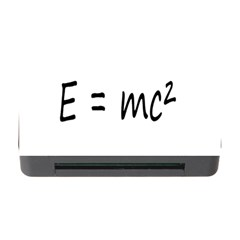 E=mc2 Gravity Formula Physics Memory Card Reader With Cf by picsaspassion