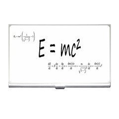 E=mc2 Formula Physics Relativity Business Card Holders