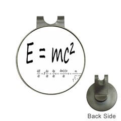 E=mc2 Formula Physics Relativity Hat Clips With Golf Markers by picsaspassion
