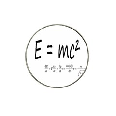 E=mc2 Formula Physics Relativity Hat Clip Ball Marker by picsaspassion