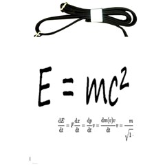 E=mc2 Formula Physics Relativity Shoulder Sling Bags by picsaspassion