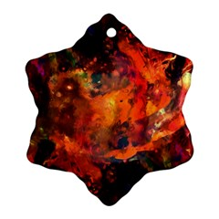 Abstract Acryl Art Ornament (snowflake) by tarastyle