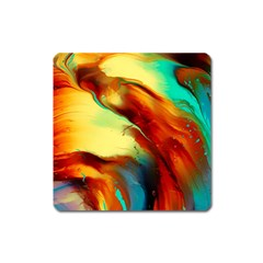 Abstract Acryl Art Square Magnet by tarastyle