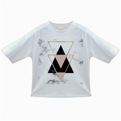 Triangles,gold,black,pink,marbles,collage,modern,trendy,cute,decorative, Infant/toddler T Shirts by 8fugoso