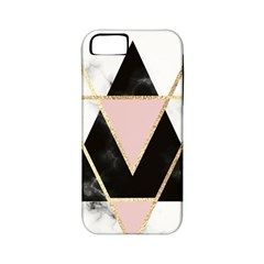 Triangles,gold,black,pink,marbles,collage,modern,trendy,cute,decorative, Apple Iphone 5 Classic Hardshell Case (pc+silicone) by 8fugoso