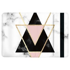 Triangles,gold,black,pink,marbles,collage,modern,trendy,cute,decorative, Ipad Air 2 Flip by 8fugoso