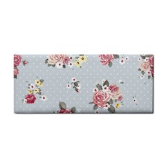 Floral Blue Cosmetic Storage Cases by 8fugoso