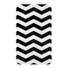 Chevron3 Black Marble & White Linen Memory Card Reader by trendistuff