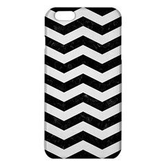 Chevron3 Black Marble & White Linen Iphone 6 Plus/6s Plus Tpu Case by trendistuff