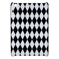 Diamond1 Black Marble & White Linen Apple Ipad Mini Hardshell Case by trendistuff