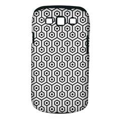 Hexagon1 Black Marble & White Linen Samsung Galaxy S Iii Classic Hardshell Case (pc+silicone) by trendistuff