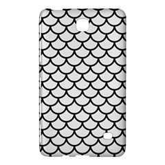 Scales1 Black Marble & White Linen Samsung Galaxy Tab 4 (7 ) Hardshell Case