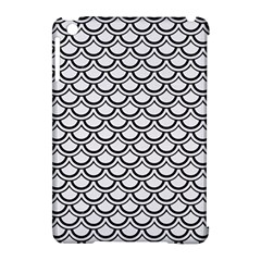 Scales2 Black Marble & White Linen Apple Ipad Mini Hardshell Case (compatible With Smart Cover) by trendistuff