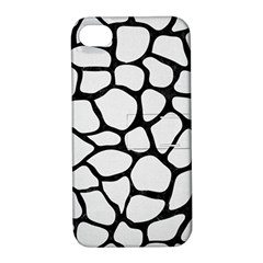 Skin1 Black Marble & White Linen (r) Apple Iphone 4/4s Hardshell Case With Stand by trendistuff