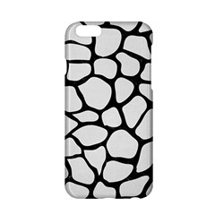 Skin1 Black Marble & White Linen (r) Apple Iphone 6/6s Hardshell Case by trendistuff