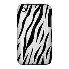 Skin3 Black Marble & White Linen Iphone 3s/3gs by trendistuff