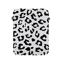 Skin5 Black Marble & White Linen (r) Apple Ipad 2/3/4 Protective Soft Cases by trendistuff