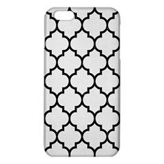 Tile1 Black Marble & White Linen Iphone 6 Plus/6s Plus Tpu Case by trendistuff