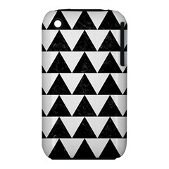TRIANGLE2 BLACK MARBLE & WHITE LINEN iPhone 3S/3GS