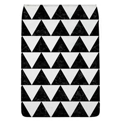 TRIANGLE2 BLACK MARBLE & WHITE LINEN Flap Covers (L)