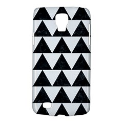 TRIANGLE2 BLACK MARBLE & WHITE LINEN Galaxy S4 Active