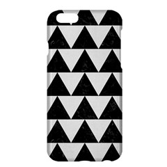 TRIANGLE2 BLACK MARBLE & WHITE LINEN Apple iPhone 6 Plus/6S Plus Hardshell Case
