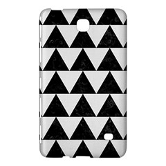TRIANGLE2 BLACK MARBLE & WHITE LINEN Samsung Galaxy Tab 4 (8 ) Hardshell Case