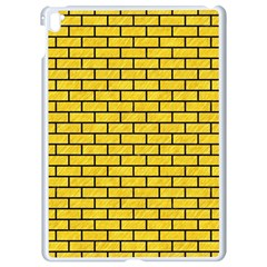 Brick1 Black Marble & Yellow Colored Pencil Apple Ipad Pro 9 7   White Seamless Case by trendistuff