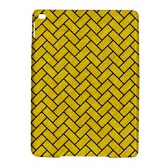 Brick2 Black Marble & Yellow Colored Pencil Ipad Air 2 Hardshell Cases by trendistuff
