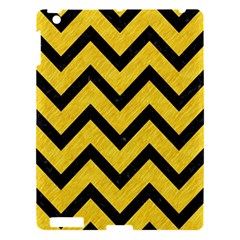 Chevron9 Black Marble & Yellow Colored Pencil Apple Ipad 3/4 Hardshell Case by trendistuff
