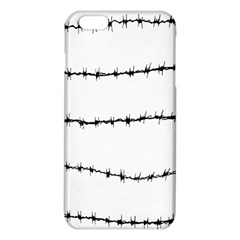 Barbed Wire Black Iphone 6 Plus/6s Plus Tpu Case by Mariart