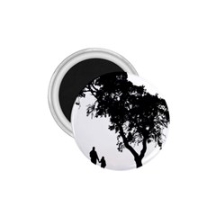 Black Father Daughter Natural Hill 1 75  Magnets by Mariart