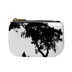 Black Father Daughter Natural Hill Mini Coin Purses