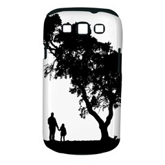 Black Father Daughter Natural Hill Samsung Galaxy S Iii Classic Hardshell Case (pc+silicone) by Mariart