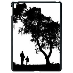 Black Father Daughter Natural Hill Apple Ipad Pro 9 7   Black Seamless Case